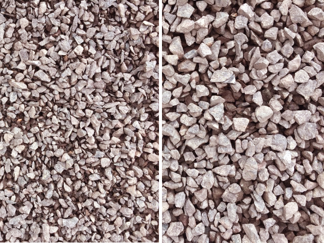 10-20mm Red Drainage Gravel available at The Yard Landscape and Garden Centre, Doonan