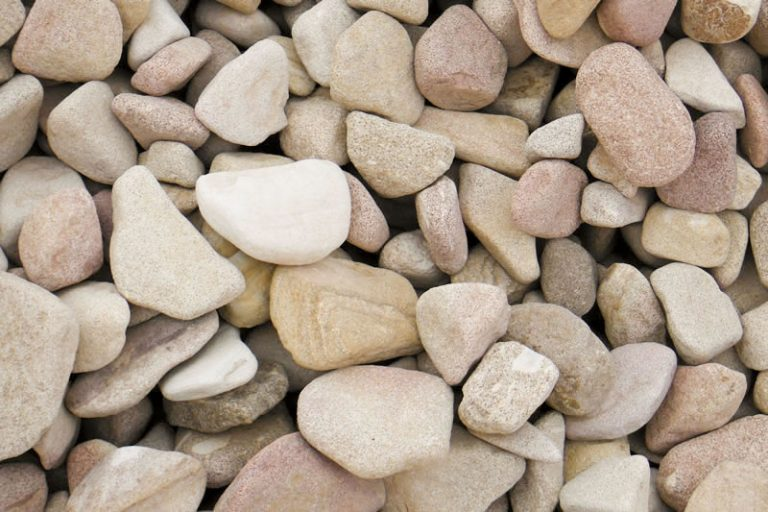 40-75mm Tumbled Sandstone decorative pebble available at The Yard Landscape and Garden Centre, Doonan