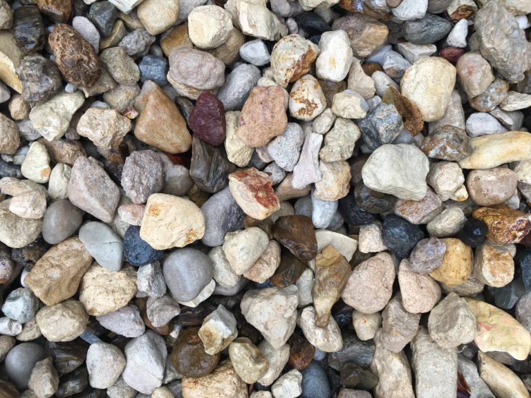 40mm Roma decorative pebble available at The Yard Landscape and Garden Centre, Doonan