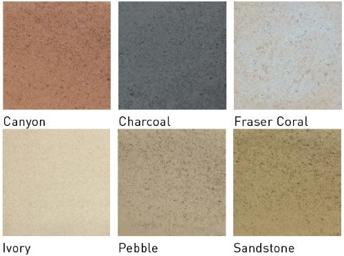 Apex LeMode Paver colours available at The Yard Landscape and Garden Centre, Doonan
