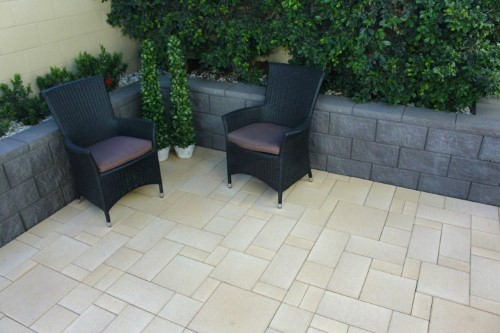 Apex LeMode Pavers available at The Yard Landscape and Garden Centre, Doonan