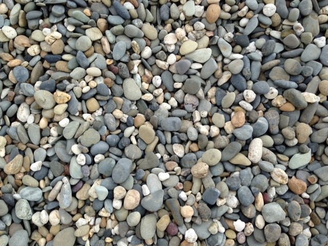 Coffs Harbour Pebble - 40mm available from The Yard Landscape Centre in Doonan