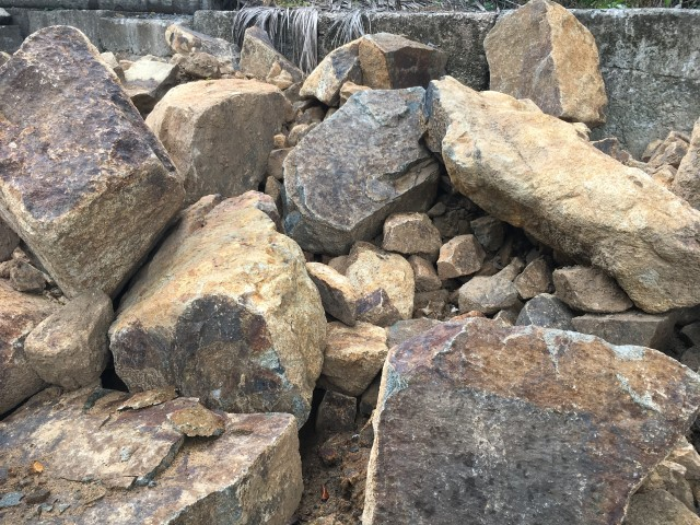 Cooroy Yellow Rock available from The Yard Landscape Centre in Doonan
