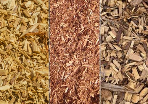 Cypress Mulch, Chip and Fines available at The Yard Landscape and garden Centre, Doonan