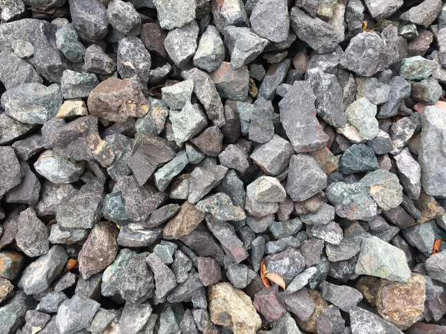 50-75mm Drainage Gravel available at The Yard Landscape and Garden Centre, Doonan
