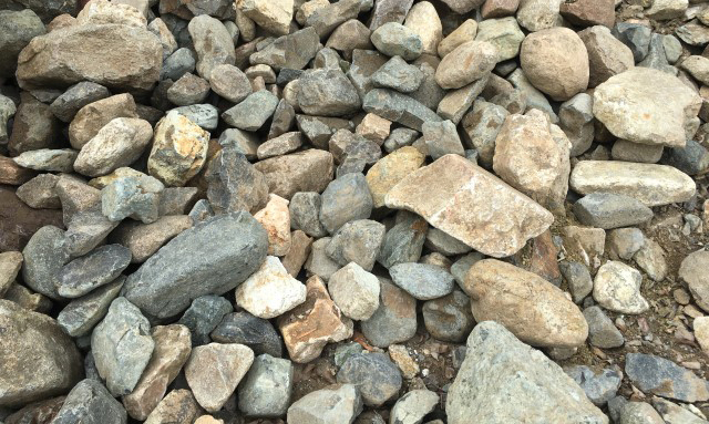 100-400mm Envirostone Rock available from The Yard Landscape Centre in Doonan
