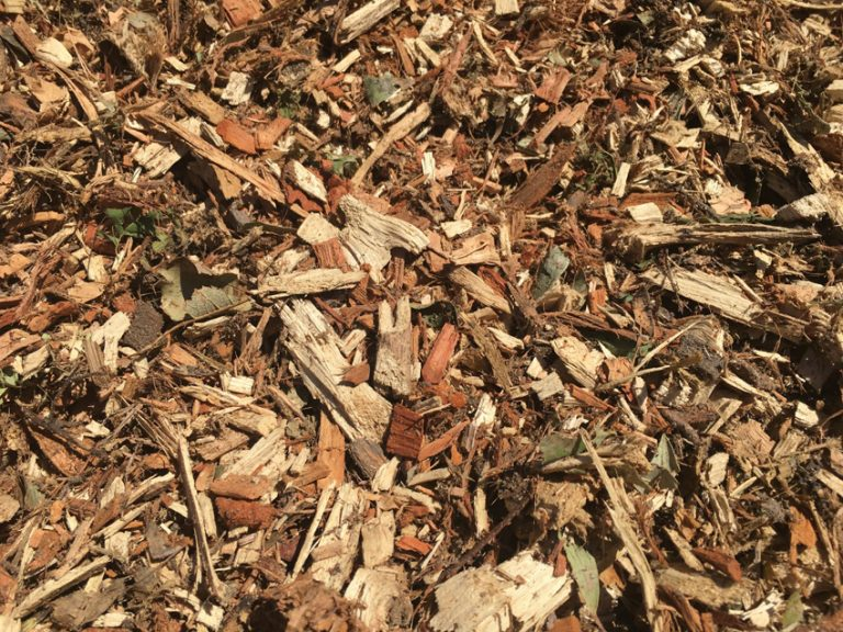 Forest mulch available at The Yard Landscape and Garden Centre, Doonan