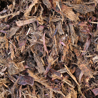 Hoop Curly mulch available at The Yard Landscape and Garden Centre, Doonan