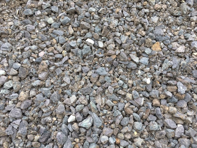 Blue Roadbase available from The Yard Landscape Centre in Doonan