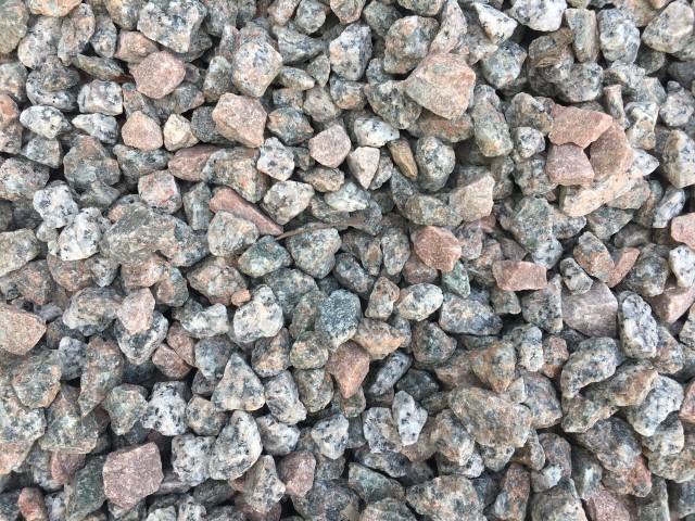 Salt and Pepper decorative gravel available at The Yard Landscape and Garden Centre, Doonan