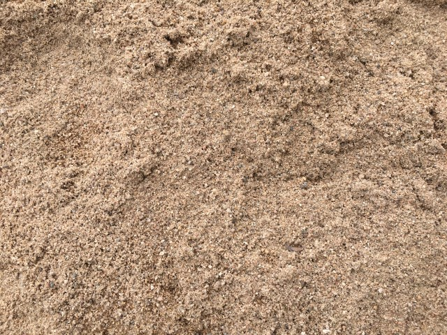 Coarse River Sand available from The Yard Landscape Centre in Doonan