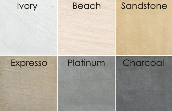 Stonemakers Paver Colours available at The Yard Landscape and Garden Centre