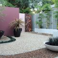 Example of Formboss redcor edging available from The Yard Landscape Centre in Doonan